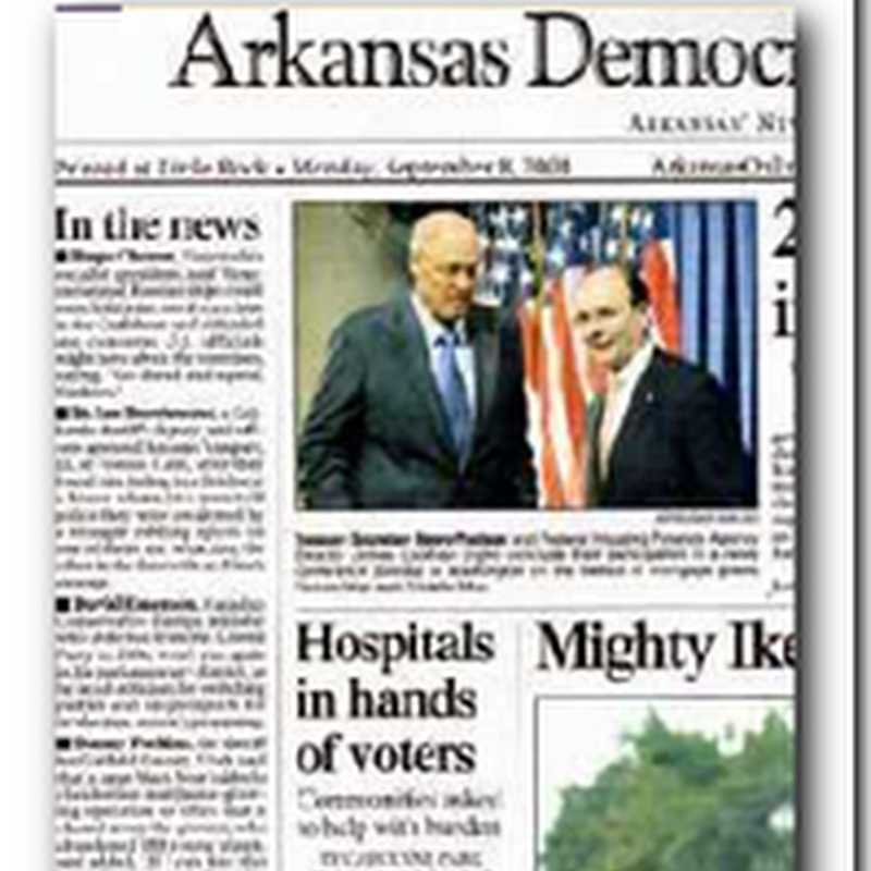 Desperate Hospitals: Hospitals in Hands of Voters - Arkansas