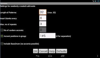 Screenshot of Rudiments