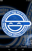 Screenshot of Laughing Man Live Wallpaper