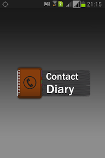 ContactDiary - screenshot