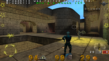 Screenshot of OpenArena