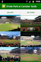 Screenshot of Stadium Finder