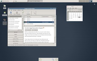 Screenshot of Debian noroot