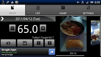 Screenshot of Photo diet
