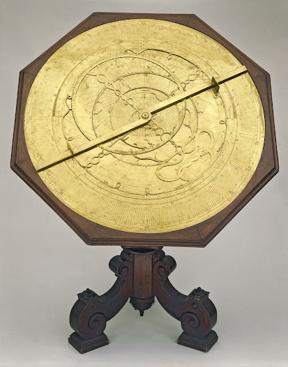 Astrolabe made in 16th century and used by Galileo Galilei