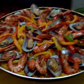 Paella by Ana Botelho - Food & Drink Plated Food (  )