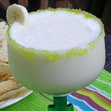 Frozen Banana Margaritas