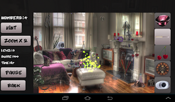 Screenshot of Halloween Hidden Objects