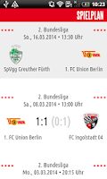 Screenshot of 1. FC Union Berlin
