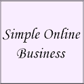 Simple Online Business icon