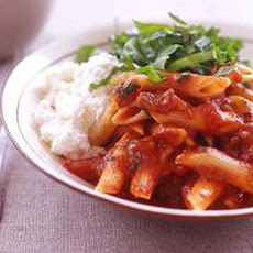 Pasta Arrabbiata with Eggplant