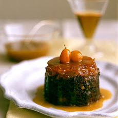 Toffee Kumquat Pudding