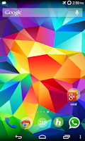 Screenshot of Galaxy S5 Wallpapers