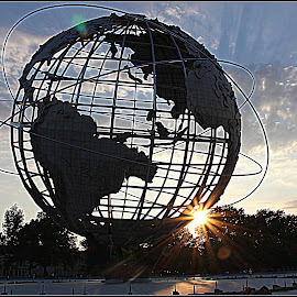 Sunburst of the World  by Dale Carney - Buildings & Architecture Statues & Monuments