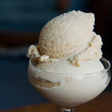 Bourbon Peach Brown Sugar Ice Cream