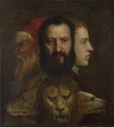 Tiziano, Allegoria della Prudenza