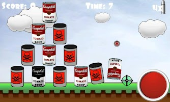 Screenshot of Shoot Cans Free
