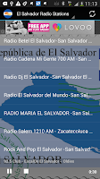 Screenshot of El Salvador Radio Stations