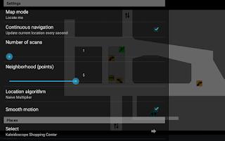 Screenshot of WiFiLine