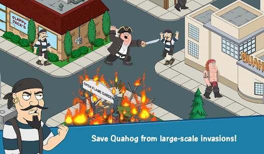 Download Android Game Family Guy The Quest for Stuff for Samsung