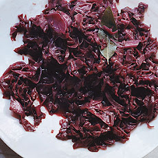 Red-Wine Braised Cabbage and Onions