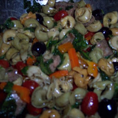 Pasta Salad With Steak in Balsamic Vinaigrette