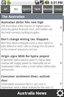 Screenshot of News Australia