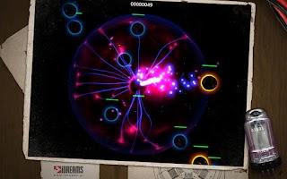 Screenshot of Plasma Lamp