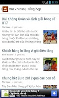 Screenshot of Café - Đọc tin tức Việt