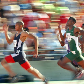 Boys High School State Track & Field 1 by Oscar Salinas - Sports & Fitness Running (  )
