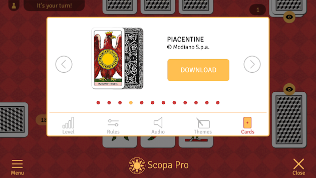 Scopa Pro APK screenshot thumbnail 5
