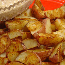 Spicy Indian Potato Wedges