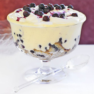 Blueberry Trifle