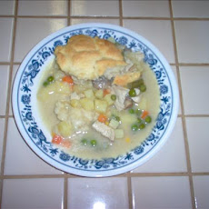 Chicken-Vegetable Pot Pie / Pies