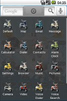 Screenshot of Vespa Classic Full Theme