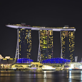 Marina Bay Sands  by Abdul Salim - Buildings & Architecture Architectural Detail
