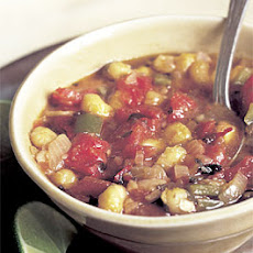 Hominy, Tomato, and Chili Soup