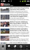 Screenshot of News 9 Oklahoma's Own
