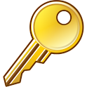 Unique Key icon