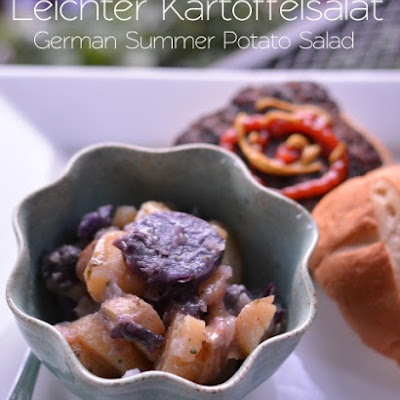 Leichter Kartoffelsalat (German Summer Potato Salad)