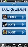 Screenshot of Agria's Pet guide