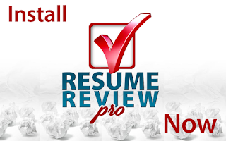 Screenshot of Resume Review Pro