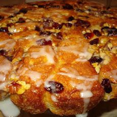 Orange Cranberry Pull-Apart Coffee Cake