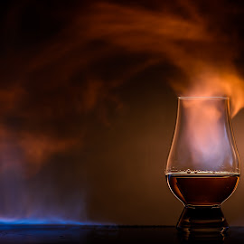Heat Transfer by Stefan Roberts - Food & Drink Alcohol & Drinks ( bourbon, whiskey, glencarn, scotch, whisky, rye, fire )