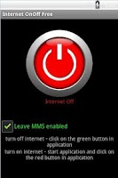 Screenshot of Internet OnOff Free