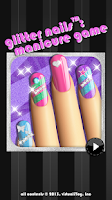 Screenshot of Glitter Nail Salon: Girls Game
