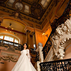The Day by Ilisei Alin - Wedding Bride ( wedding, new life, harmony, bride, moments )
