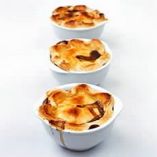 Individual Steak, Mushroom and Kidney Pies