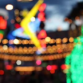 Vegas.  by Matt Hechter - Abstract Macro