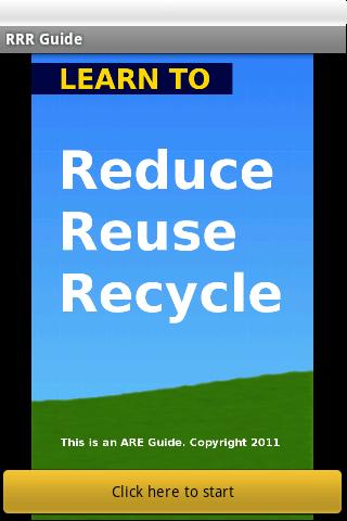 3R: Reduce Reuse Recycle